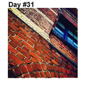 Day Thirty-One: Brick by Brick